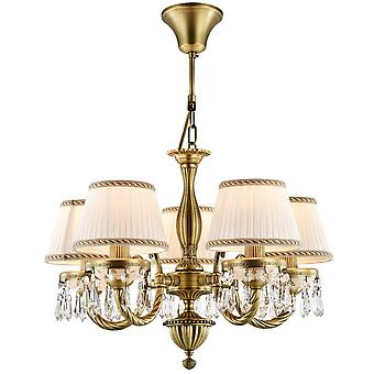 Maytoni Lighting Blade Royal Classic Collection Chandelier, Brass