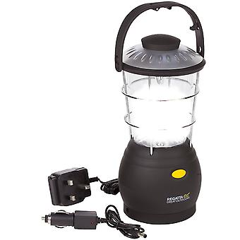 Regatta Helia 12 Dynamo Rechargeable Camping Lantern Light And UK Car Adapter