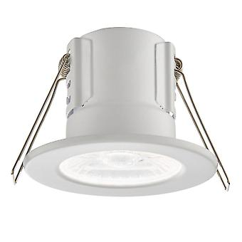Saxby Lighting Shield Eco 500 IP65 4W 4000K Dimmable LED Downlight In White