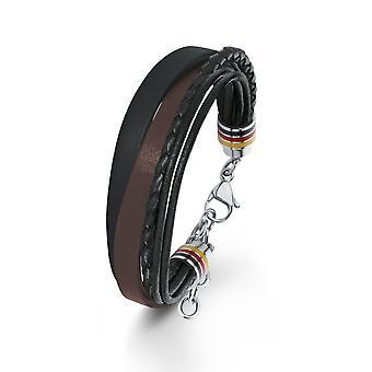 s.Oliver jewel mens bracelet leather SO1468/1 - 566650