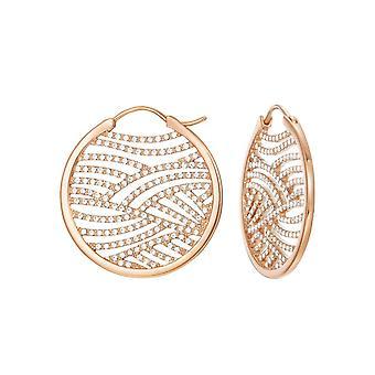 ESPRIT women's earrings Creole stainless steel jw50236 Rosé ESCO01965C000