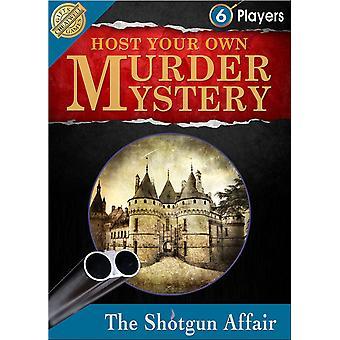 Host Ihrer eigenen Murder Mystery: Die Shotgun Affair