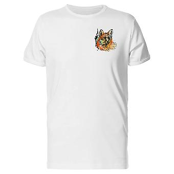 Upperside Waterpaint Fox Tee Men's -Image by Shutterstock