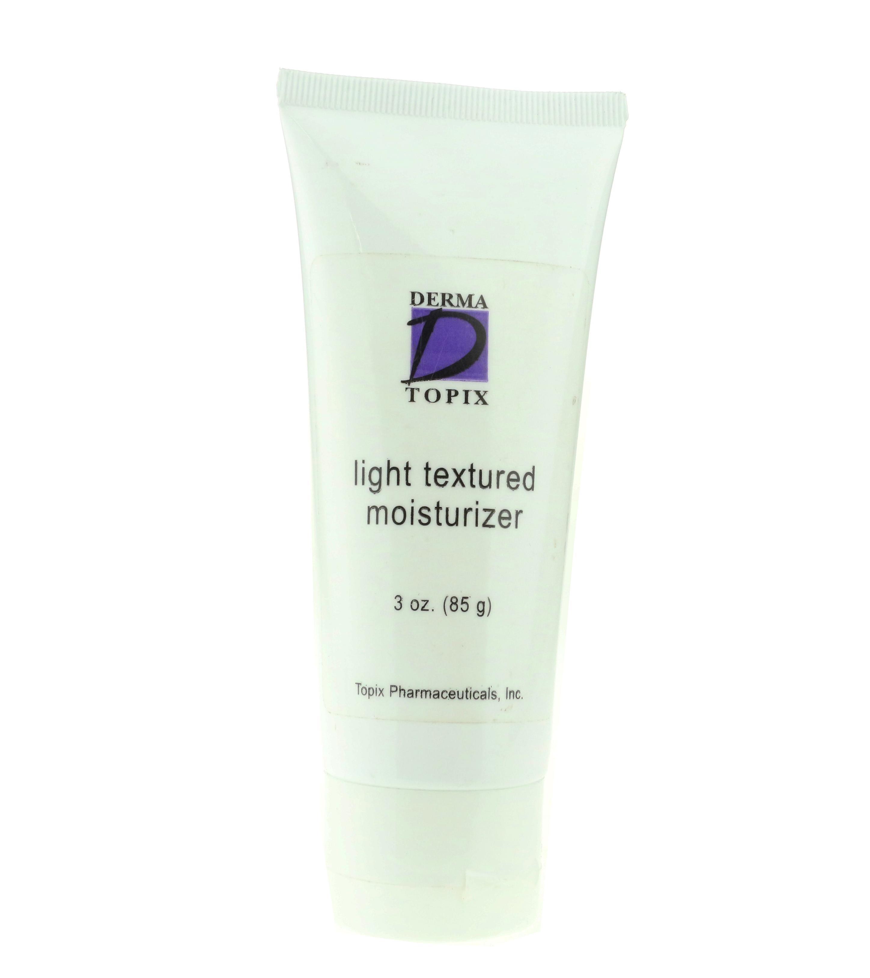Moisturizer Derma 3oz Textured Unboxed Light 85g New Topix 3ALq4R5j