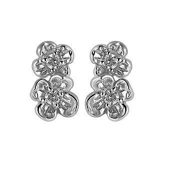 Orphelia sølv 925 ørering Zirconium ZO-6018