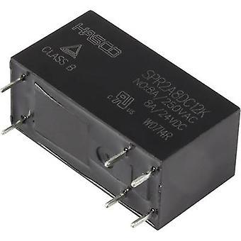 HASCO-Relais und Elektronik SPR2A8DC12K PCB-Relais 12 v DC 8 A 2 Entscheidungsträger 1 PC