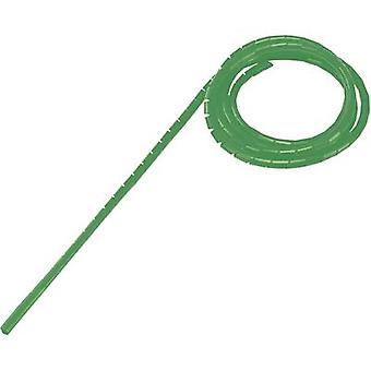 Spiral tube 4 up to 50 mm Green WB-0506 Conrad Components