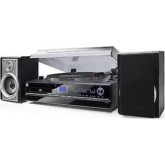 Giradiscos USB NR 100 dual negro