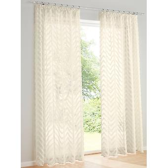 Heine home set of 2 romantic curtain shabby country home