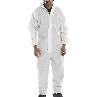 Click Microporous Disposable Coverall White - Coc20
