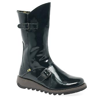 Fly London Mes 2K Womens Leather Calf Boots