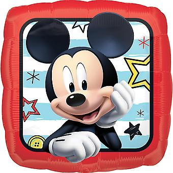 Anagram 18 Inch Mickey Roadster Racers Square Foil Balloon