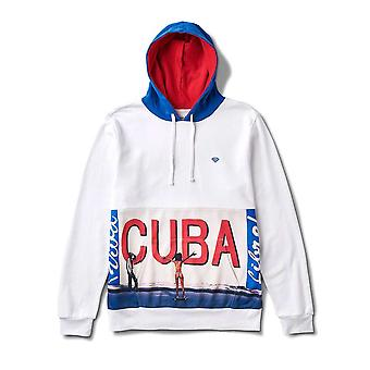 Diamond Supply Co Cuba Hoodie White