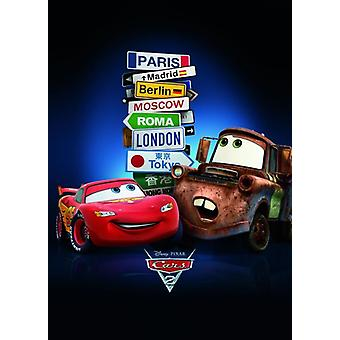 Cars 2 posters cities