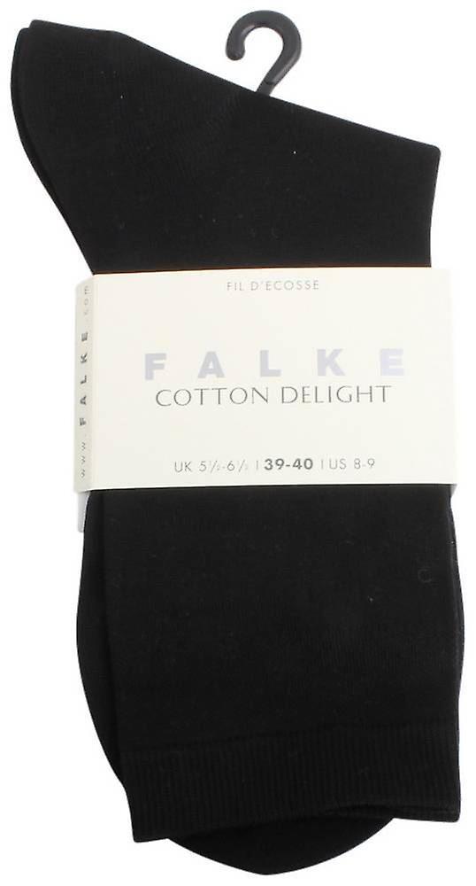 Falke Cotton Delight Socks - Black