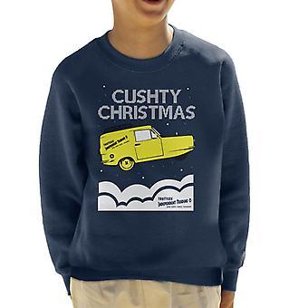 Cushty Christmas Only Fools And Horses Kid's Sweatshirt