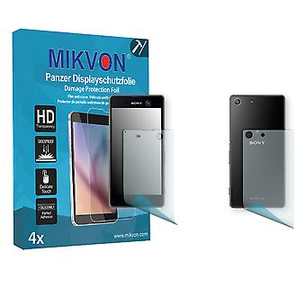 Sony Xperia M5 Screen Protector - Mikvon Armor Screen Protector (Retail Package with accessories) (1x FRONT / 1x BACK)