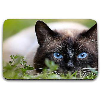 i-Tronixs - Cat Printed Design Non-Slip Rectangular Mouse Mat for Office / Home / Gaming - 9