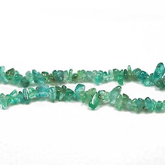 Strand 125+ Turquoise Apatite 3-5mm Chip Beads CB27243