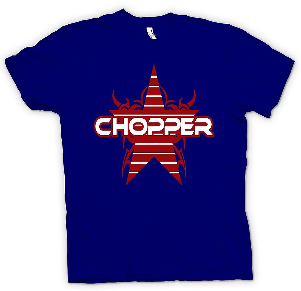 Mens T-shirt - Chopper Retro Bike - lustig