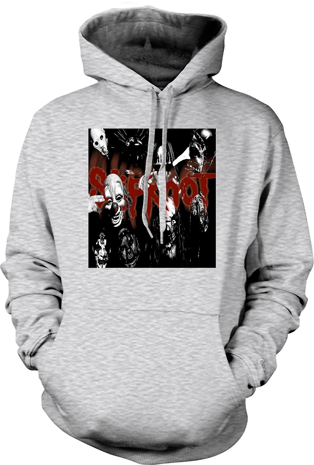 Mens Hoodie - Slipknot - Heavy Metal Band