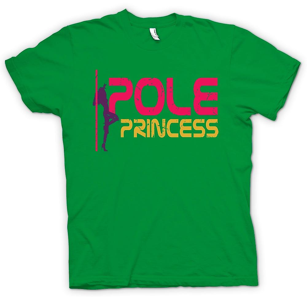 Mens t-shirt - principessa Pole - Pole Dancing