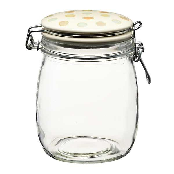 Traditional Glass Storage Jar -  750ml (26oz)