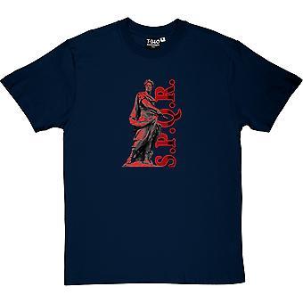 SPQR - Senatus Populusque Romanus Мужская футболка