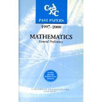 CXC Past P 9700 Matemáticas General