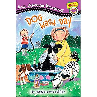 Dog Wash Day: All Aboard Picture Reader (All Aboard Reading: A Picture Reader)
