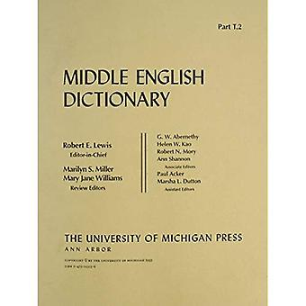 Middle English Dictionary: T.2