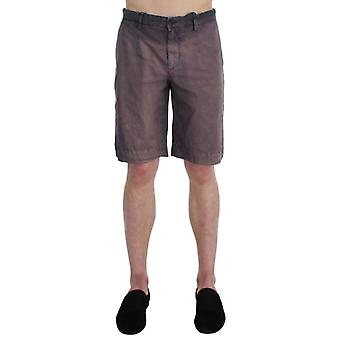 Dolce & Gabbana Gray Faded Cotton Above Knees Casual Shorts -- SIG3584069