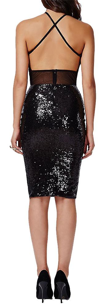 Waooh - Short dress with sequins Dryd