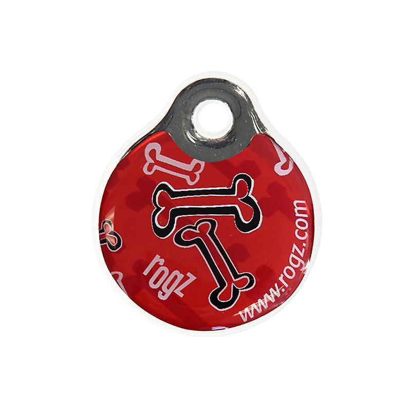 Rogz Id-Tagz Instant Red Bone