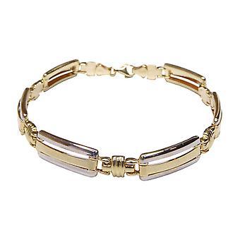 Christian 14 k bicolor Gold Bracelet