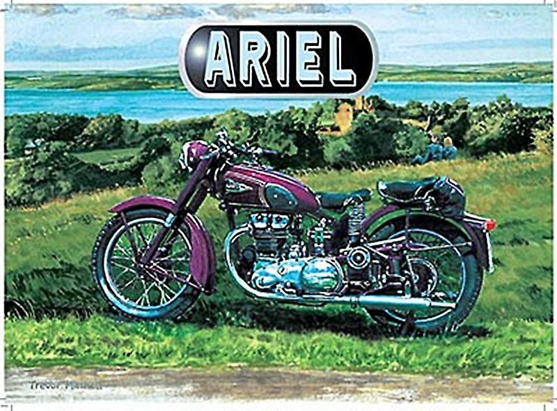 Ariel Motorcycle small metal sign   (og 2015)