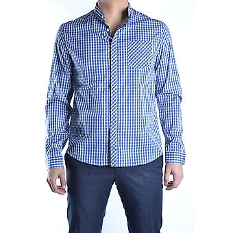 Balmain Blue Cotton Shirt