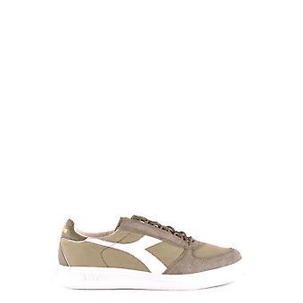Diadora Green Fabric Sneakers