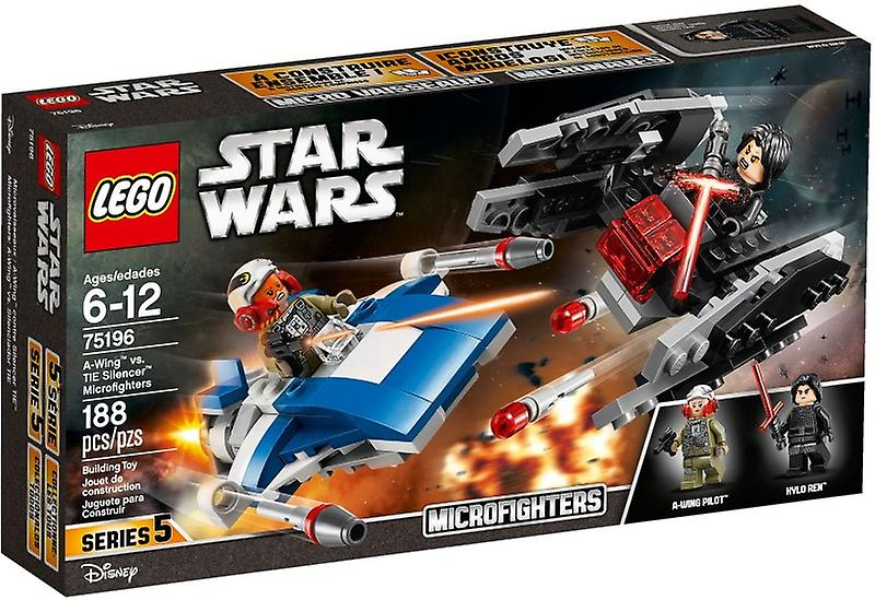 75196 LEGO A-wing vs TIE silencieux microfighters