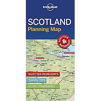 Lonely Planet Ecosse planification Map (carte)