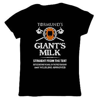 Giants Milk TV Movie inspirerade kvinnor Funny T-shirt | TV film fläkt Geek Fantasy fiction-serien | Jul födelsedags present gåva hennes mamma