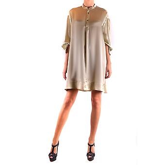 Forte_forte Beige Silk Dress