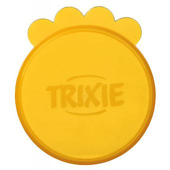 Trixie 2 Cover Wet Food Cans, Ø 10 Cm, Assorted