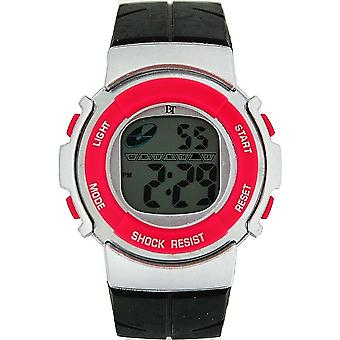 Die Olivia Collection Childrens Digital Chronograph Black & Rosa Sport Uhr