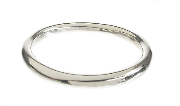 Cavendish argento francese classico ovale Bangle