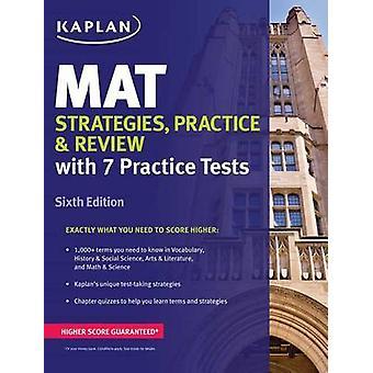 Mat Strategies - Practice & Review - 9781506211121 Book