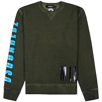 Dsquared2 Military Sweatshirt Green