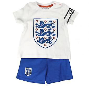 England F.A. T Shirt & Short Set 2/3 yrs