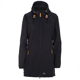 Trespass mujeres Kristy hooded larga longitud Softshell abrigo