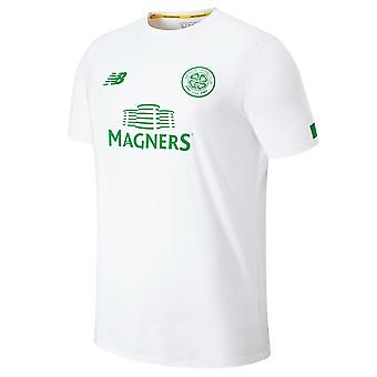 2019-2020 Celtic Pre Game Training Jersey (White)